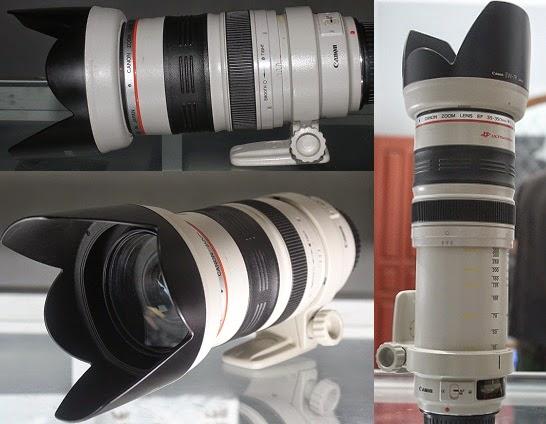 harga lensa L Canon 35 - 350mm