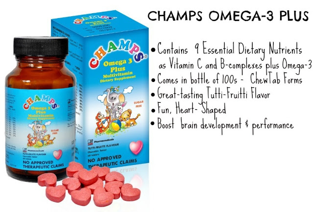 CHAMPS, Multivitamins, CHEWABLE, omega-3 plus, children