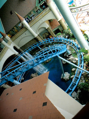 Giant Loop at Lotte World Seoul