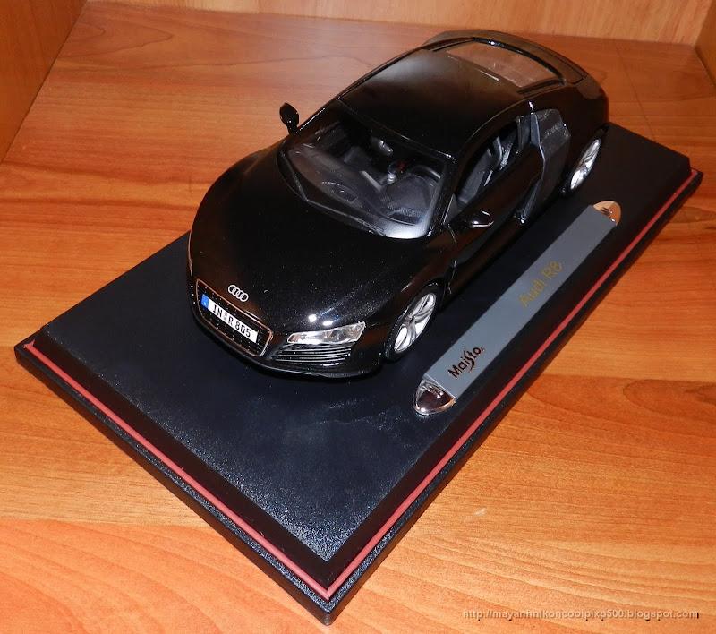 Diecast 1:18 Audi R8 above