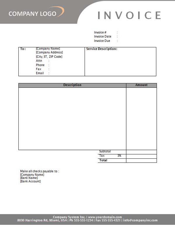 sponsorship invoice template .