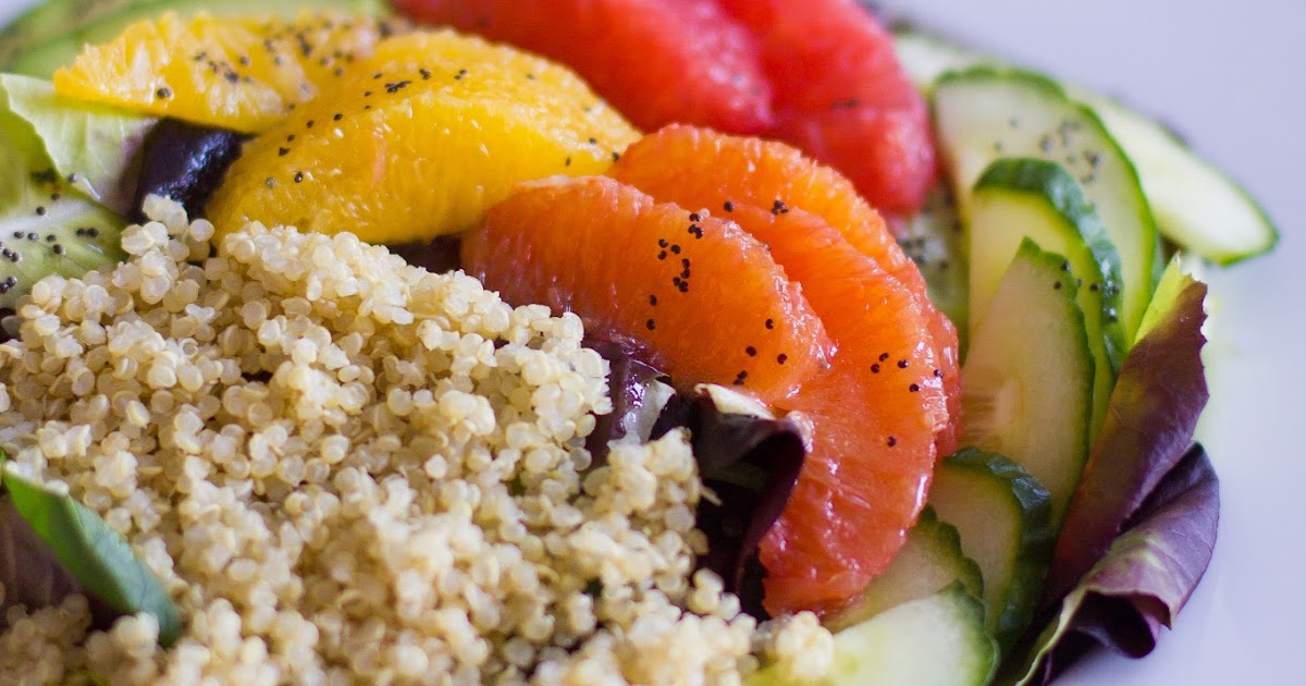 Cooking with Jax: Winter Citrus Salad with Poppyseed Dressing
