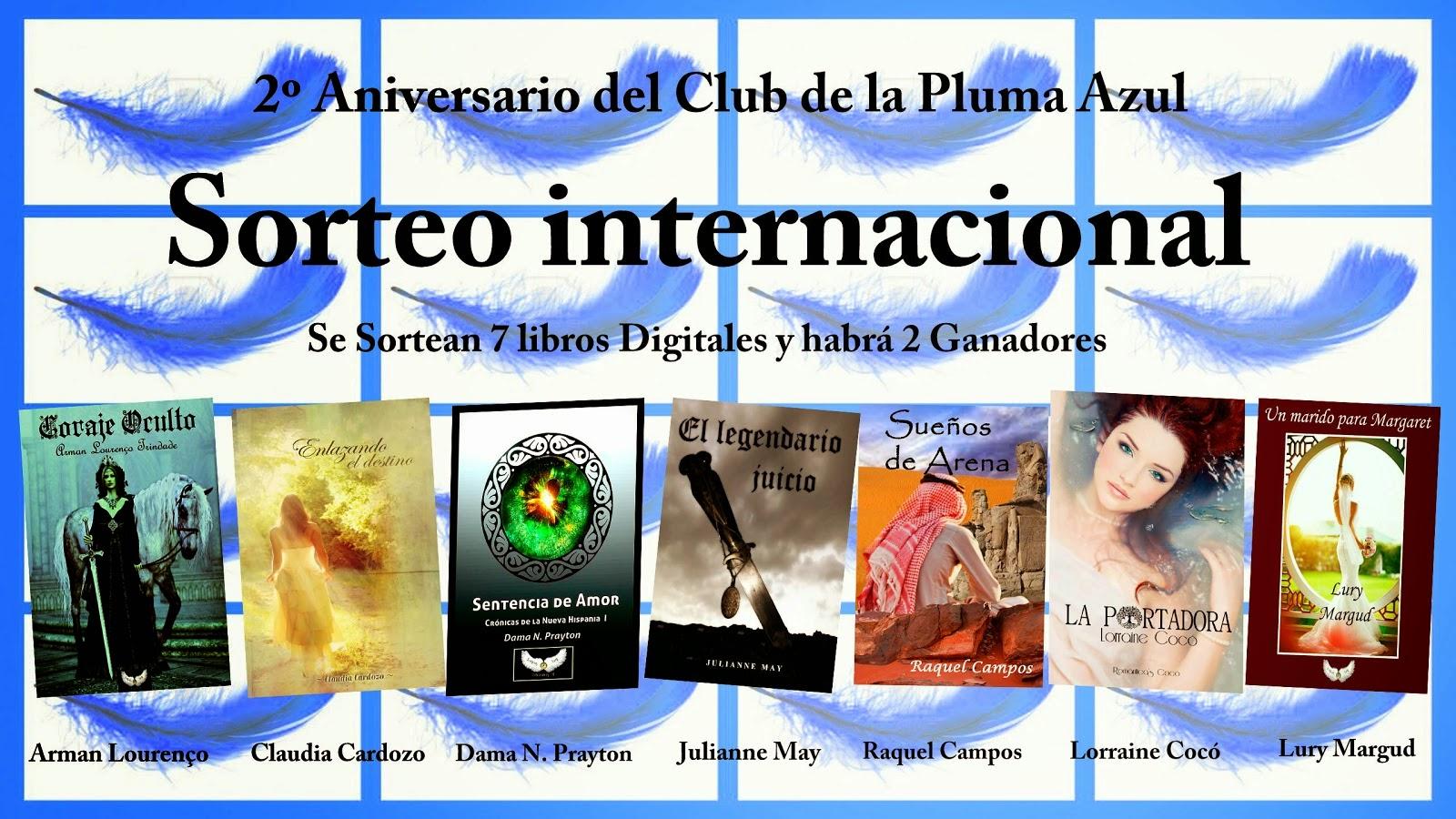 2º aniversario del Club de la Pluma Azul