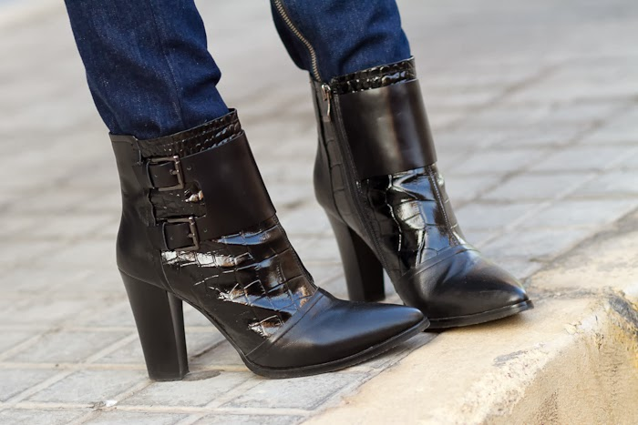 Ankle Strap Boots: WLTER by JESSICA BUURMAN