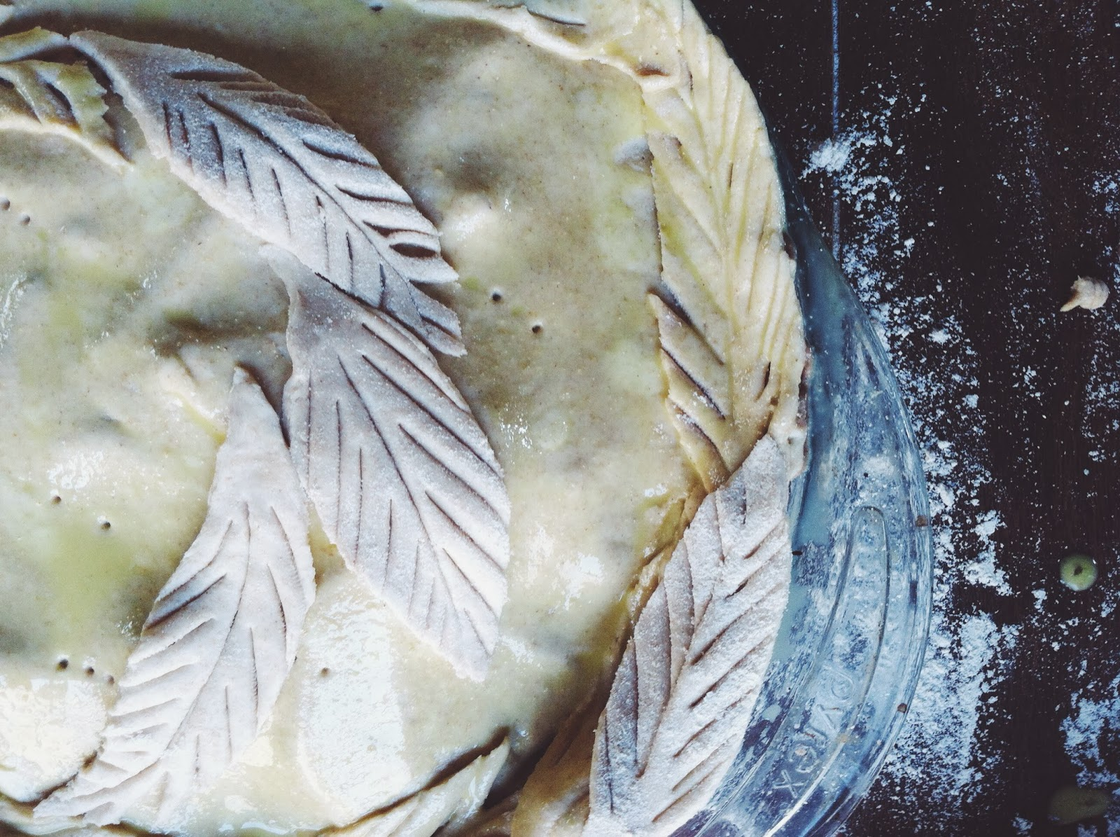 Decorative Pie Crust by Tara Jensen of Smoke Signals Baking