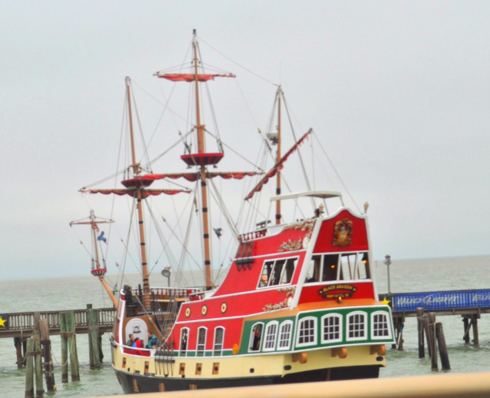 Black Dragon Pirate Ship ~ The Dias Family Adventures