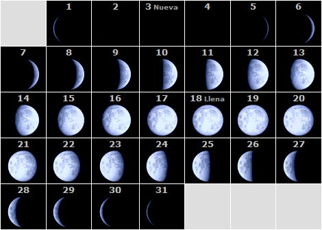 Grupo base 4 hidrosfera fases lunares for Fase lunar julio 2016