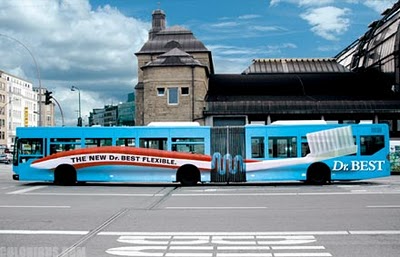 Amazing advertising on buses 09