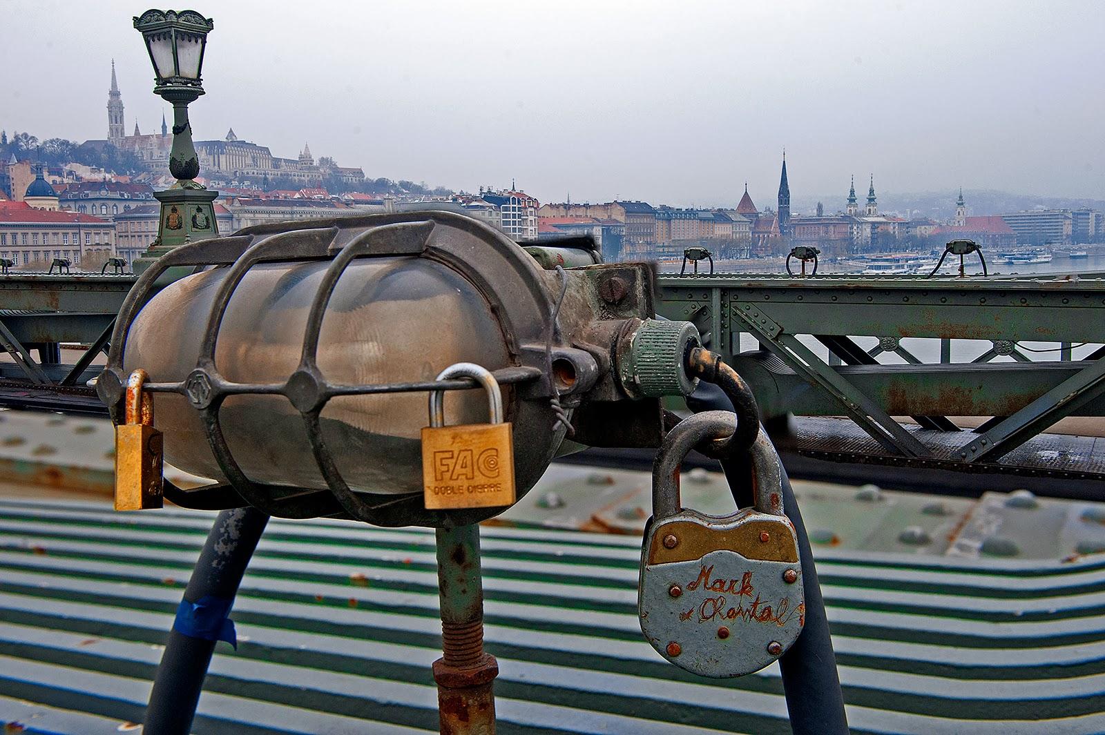 Budapest, Chain Bridge, Danube, Hungary