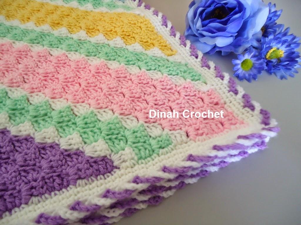 Crochet Pattern For C2c Afghan : Dinah Crochet: C2C baby blanket