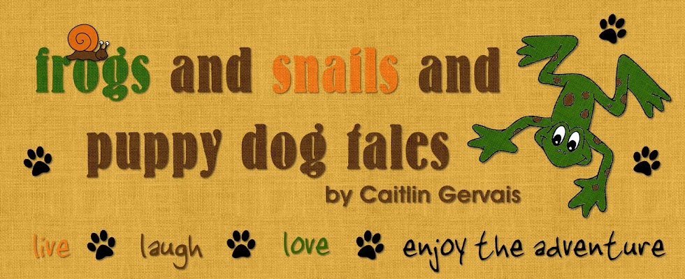 Frogs and Snails and Puppy Dog 'Tales'
