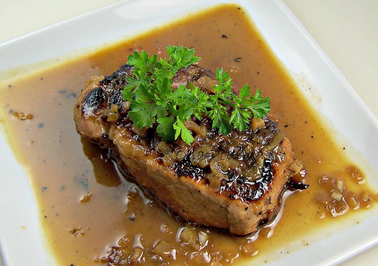 Bourbon-and-Vanilla-Brined Pork Chops Recipes — Dishmaps