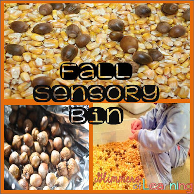 Fall Sensory Table / Fall Sensory Bin