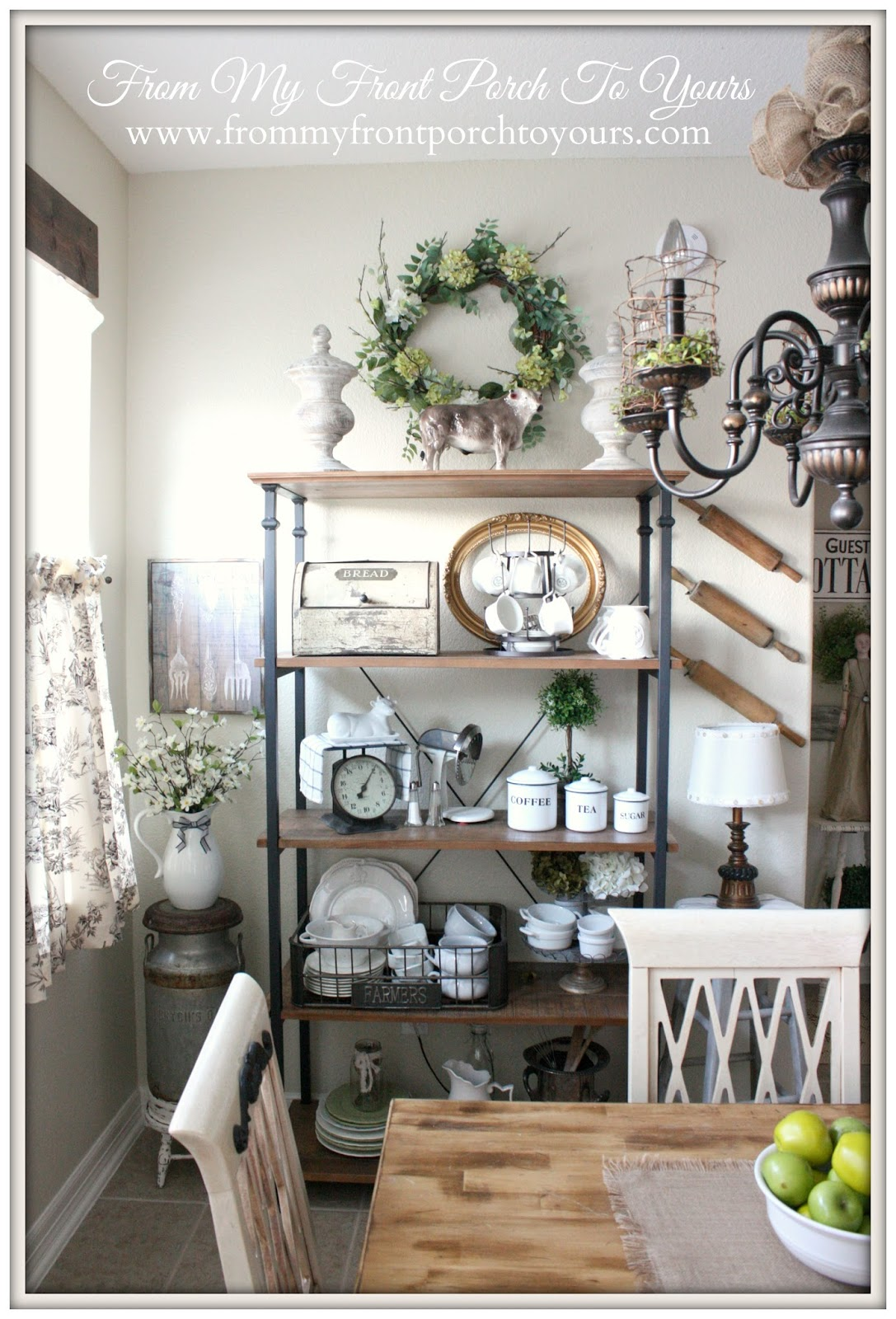 French Farmhouse Kitchen-How I Found My Style Sundays- From My Front Porch To Yours