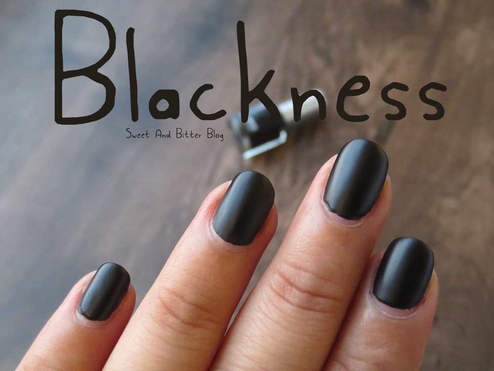 Colorbar Blackness - The Perfect Matte Black Nail Polish? | Sweet ...