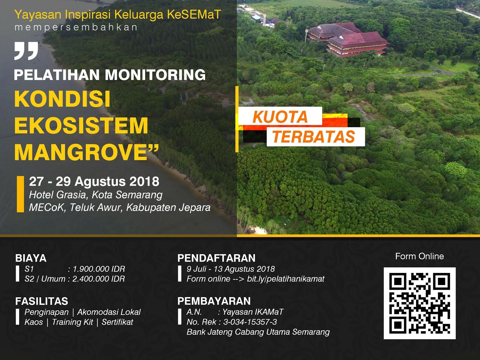 Press Release Pelatihan Monitoring Kondisi Ekosistem Mangrove