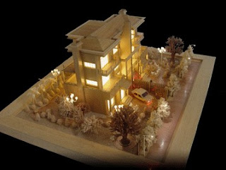 Maquetas de casas minimalista
