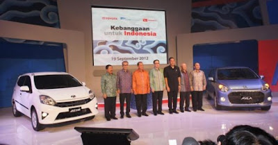 Toyota Agya Raih Tiga Penghargaan Marketeers Award