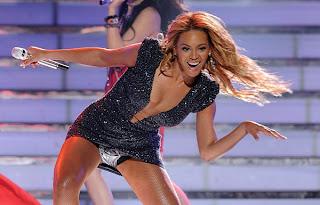 Beyonce's crotch