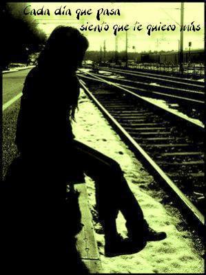 imágenes con frases tristes de amor para enamorados