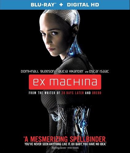 Poster Of Ex Machina 2015 English 300MB BRRip 480p Free Download Watch Online