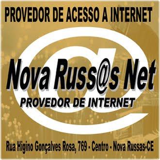O melhor provedor de Nova Russas - 99968. 8775 ou 99241 2538