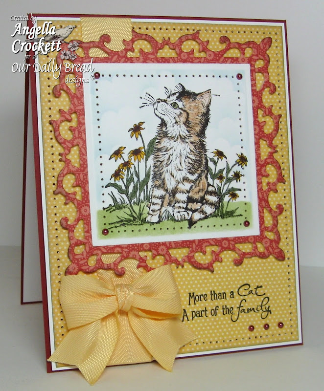 Stamps: Our Daily Bread designs 'Cat Sympathy' (will be available  title=