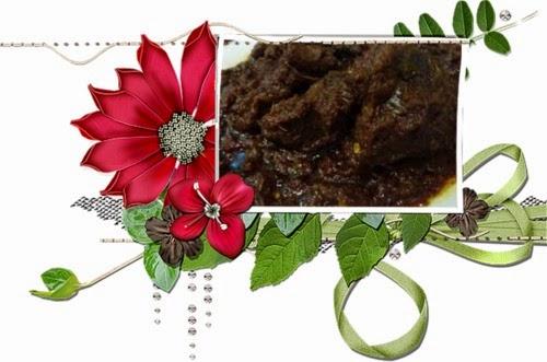 Azam Ramadan Su, Juadah Aidilfitri, Rendang Daging Berempah, Ayam masak merah