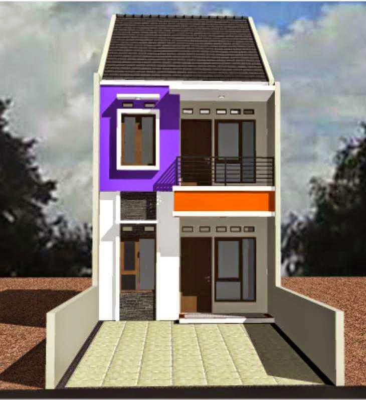 Desain Rumah Minimalis 2 Lantai Contoh