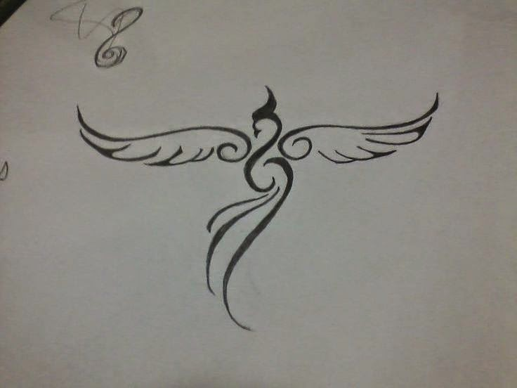 33 Minimalist Phoenix Tattoo Ideas | Scorpio Quotes