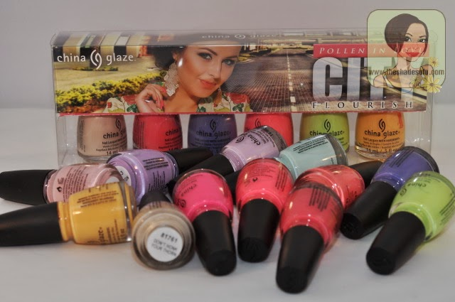China Glaze Spring 2014 City Flourish Collection