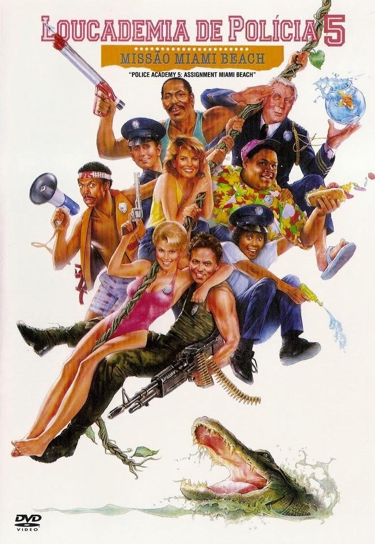 Loucademia de Polícia 5: Missão Miami Beach – Dublado (1988)