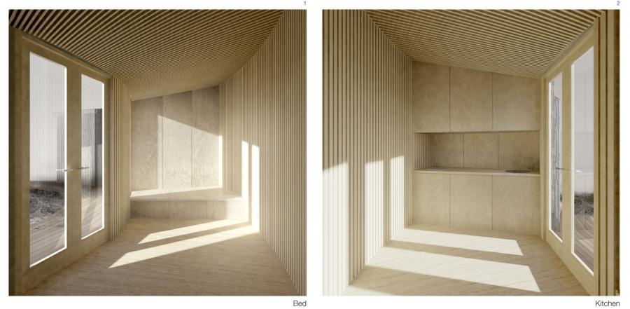 Helsinki design modulares minihaus aus holz for Minihaus aus holz
