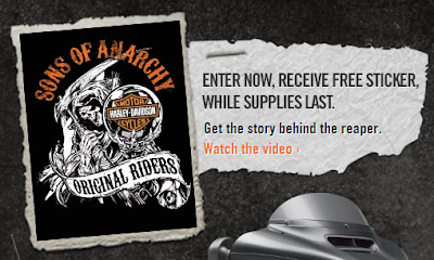 free sons of anarchy sticker