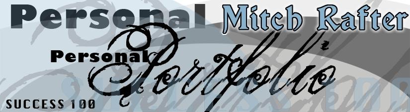 Personal Portfolio - Mitch Rafter