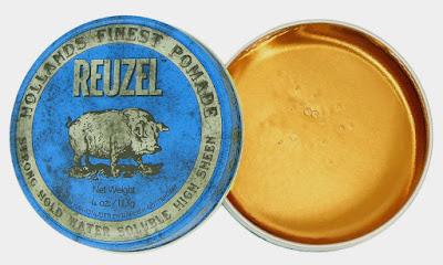 Reuzel Blue Heavy Hold Pomade (Water Based)