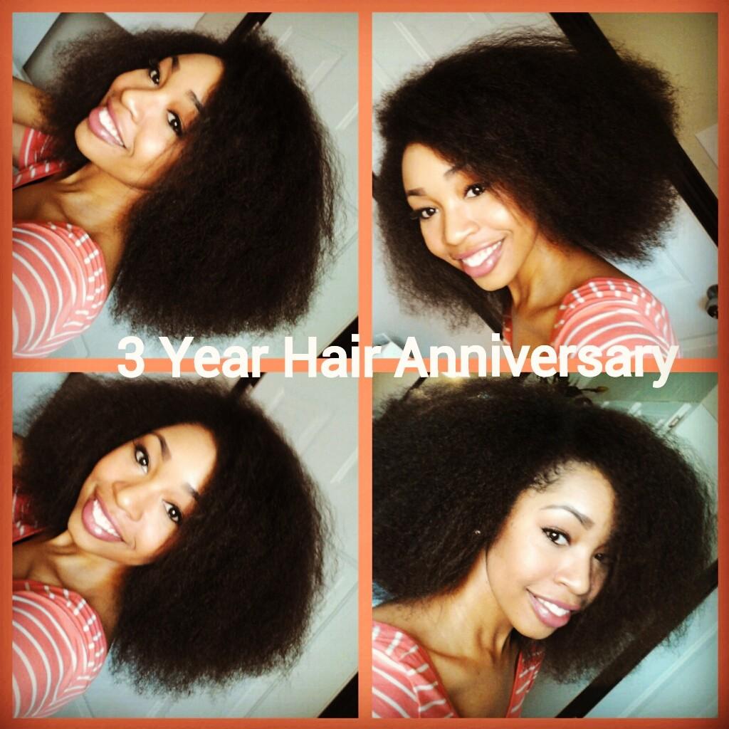 Tiffany Nichols Design: 3 Year Natural Hair Anniversary