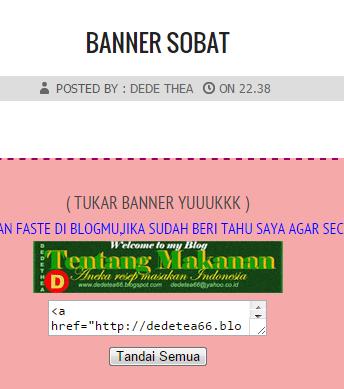 BANNER SOBAT