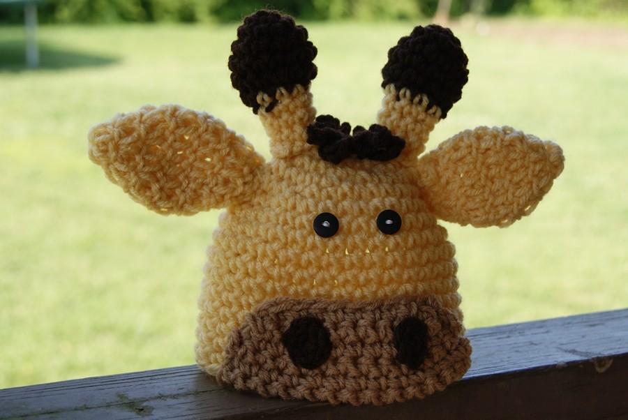 Free Pattern Crochet Giraffe Hat Traitoro For