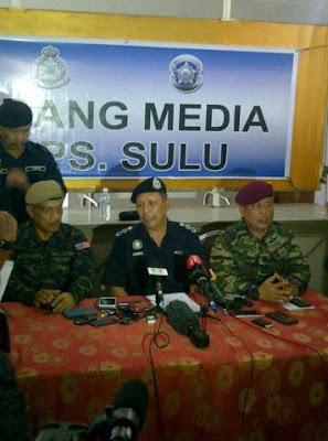5 Polis Maut Di Semporna, Dua Lanun Terbunuh