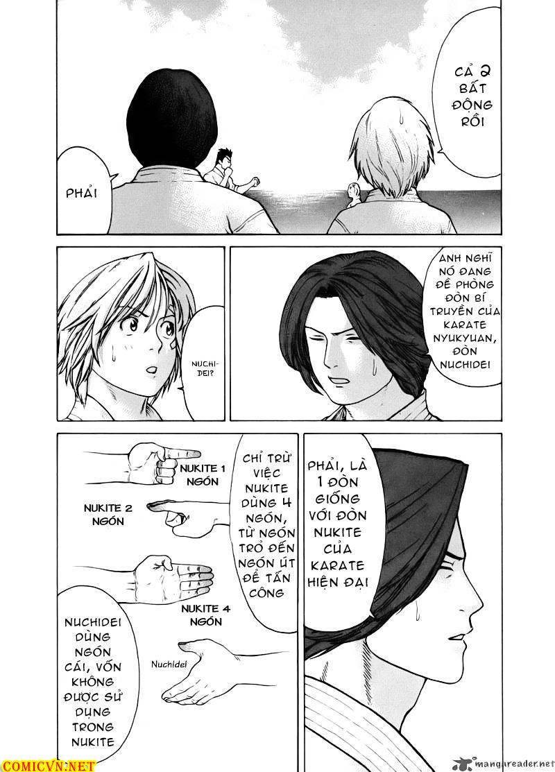 Karate Shoukoushi Kohinata Minoru chap 46 Trang 16