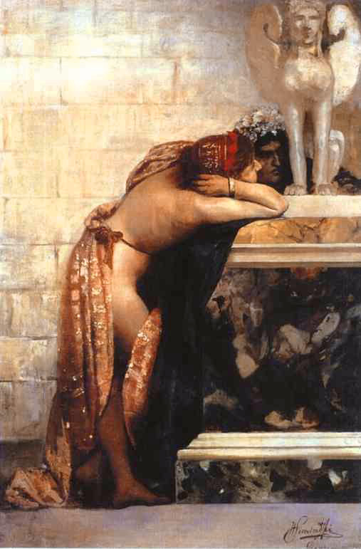 sphinx siemiradski henryk