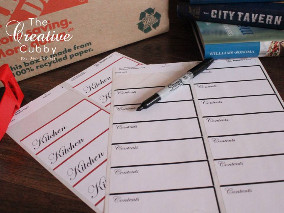 The Creative Cubby Free Printable Moving Labels