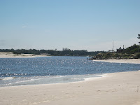 paisaje playa uruguay  canelones arroyo pando