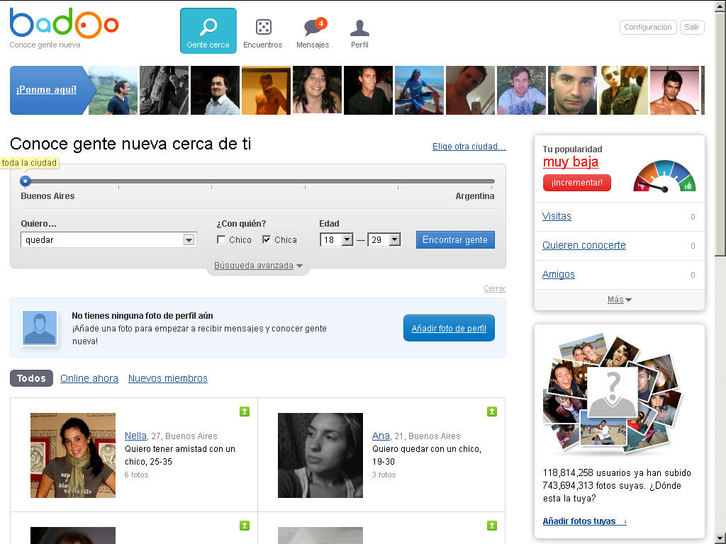 Badoo com profile
