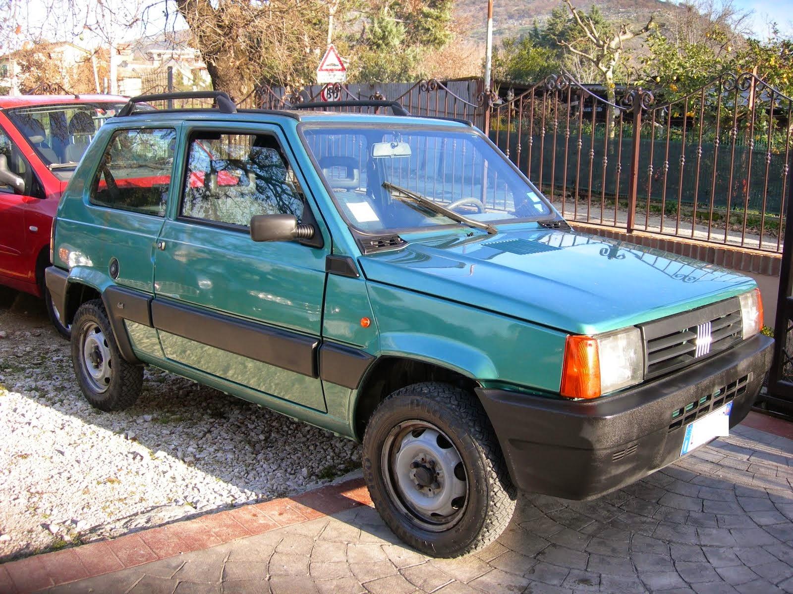 Fiat Panda 1.1 Trekking 4x4 Metano Anno 2000