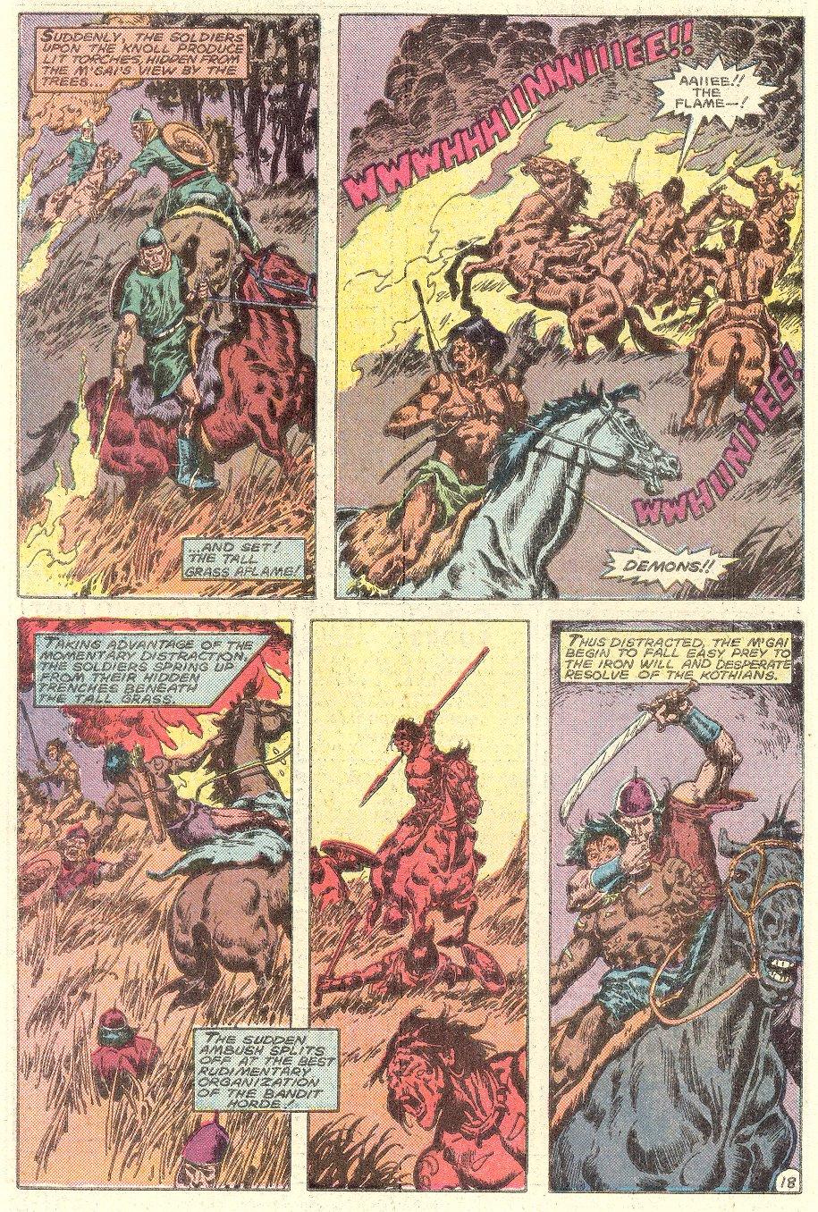 Conan the Barbarian (1970) Issue #182 #194 - English 19