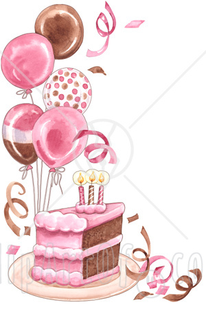 birthday balloons cartoon. clip art alloons and