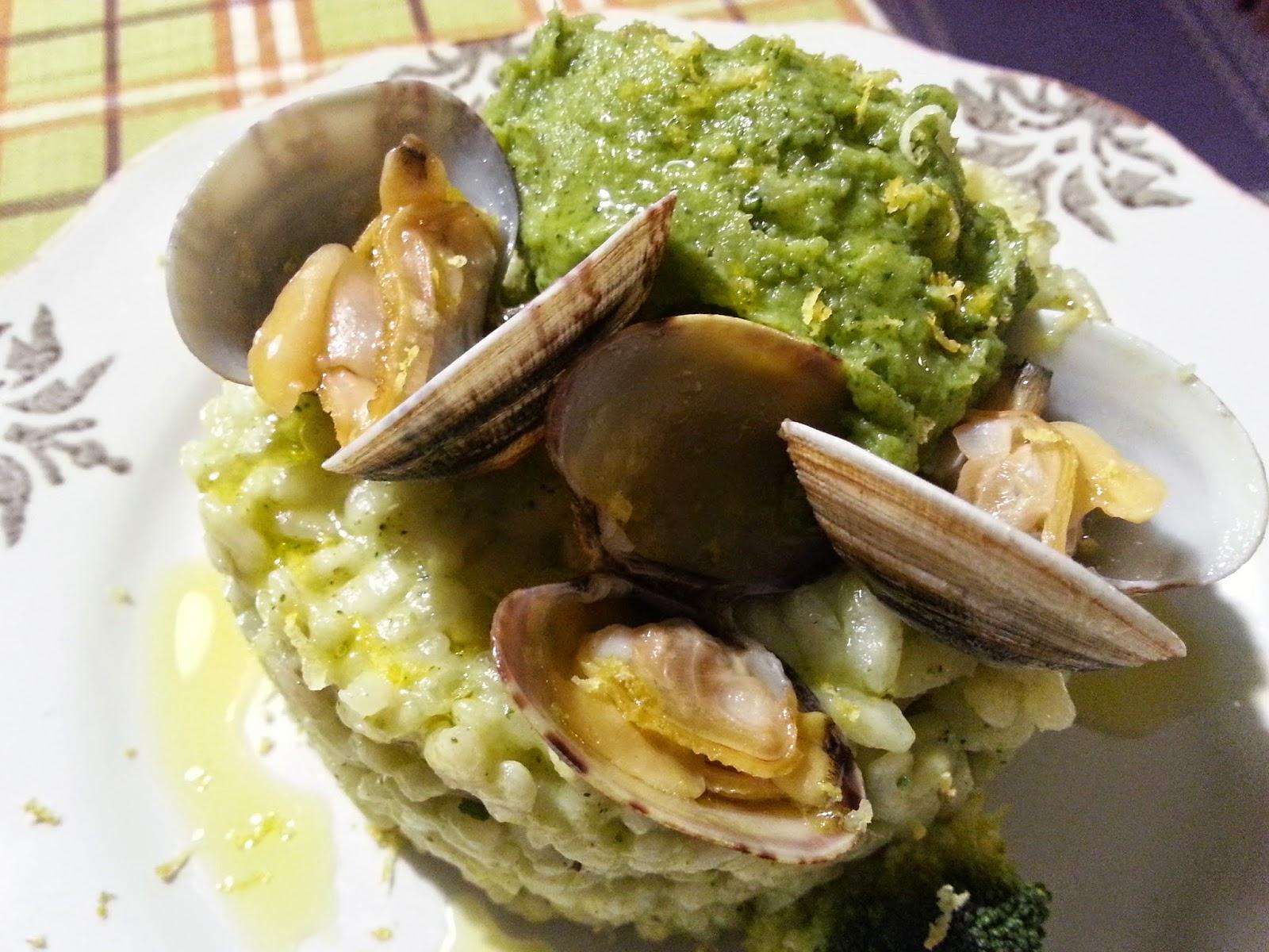 Fatemi cucinare risotto broccoli e vongole for Cucinare broccoli