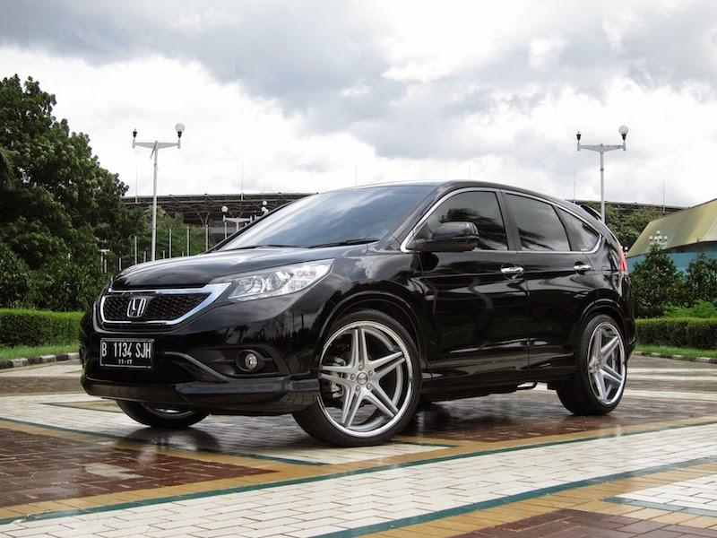 Foto modifikasi mobil honda crv terbaru